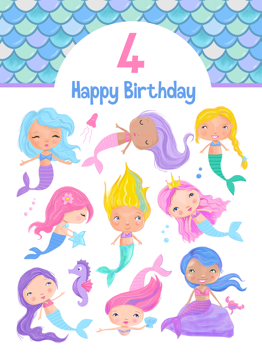 Mermaid Age 4