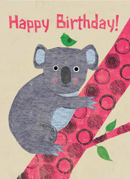 Koala Happy Birthday