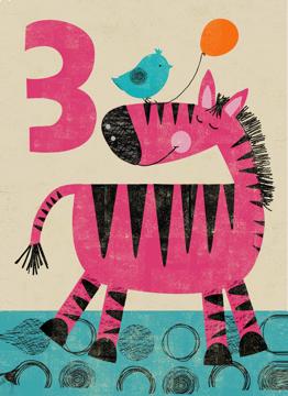 Age 3 Zebra