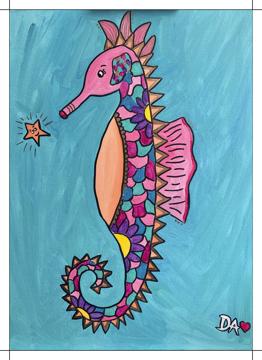 Shimmer Seahorse