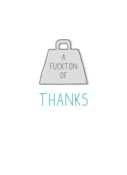 F*cktone Of Thanks
