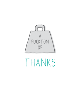 F*cktone Of Thanks