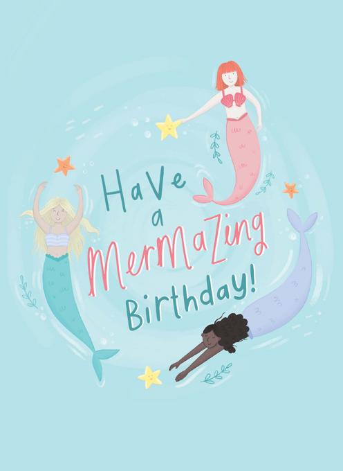 Have A Mermazing Birthday