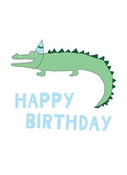 Croc Birthday