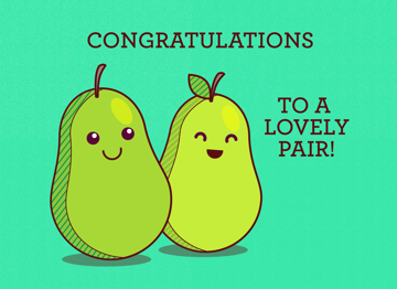 Congratulations to a lovely pair!