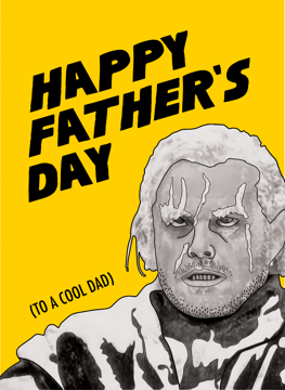 The Shining Father's Day Card