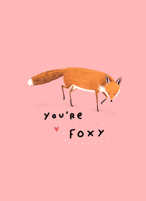 Foxy Card