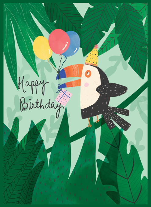 Birthday Toucan