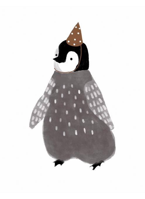 Penguin in Party Hat