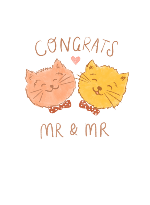 Congrats Mr & Mr Wedding