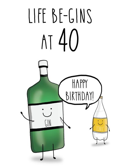 Life be-GINs at 40