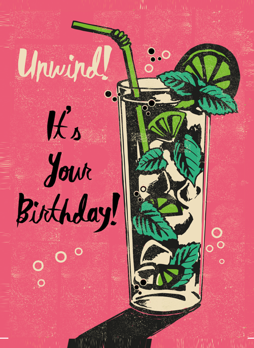Unwind Birthday Mojito