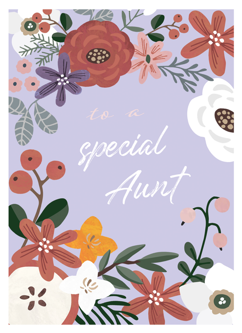 To A Special Aunt