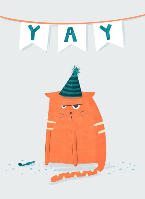 Grumpy Cat in a Hat
