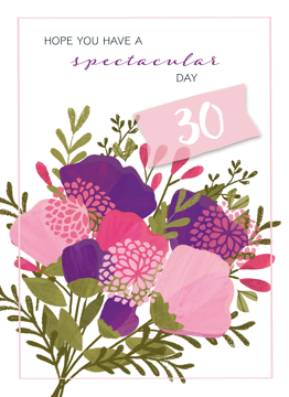 Botanical 30th Birthday