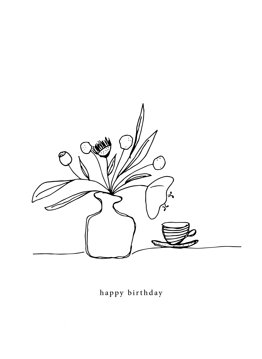 Flowers + Tea Birthday