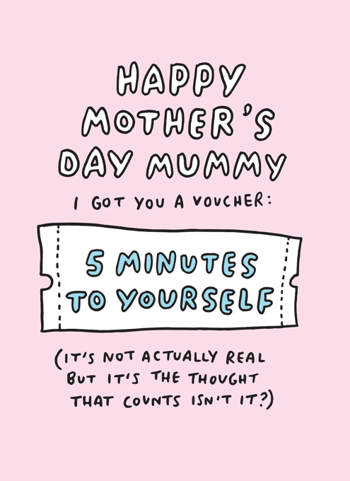 Happy Mother's Day Mummy