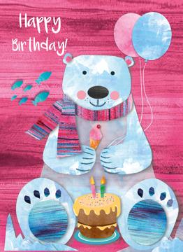 Polar Bear Happy Birthday