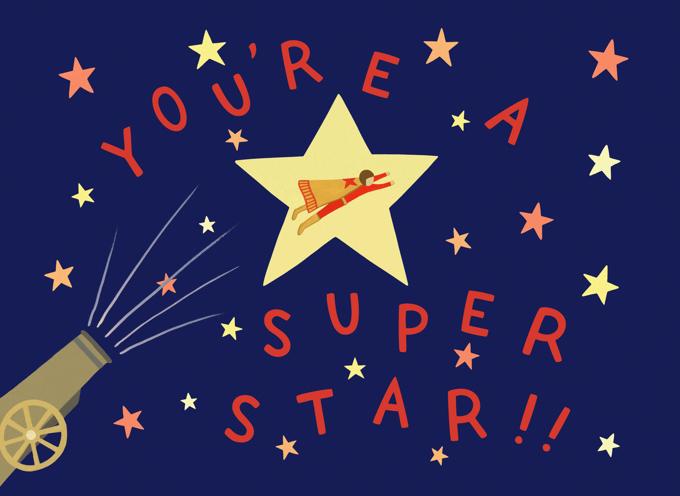 Human Cannonball Superstar Congrats