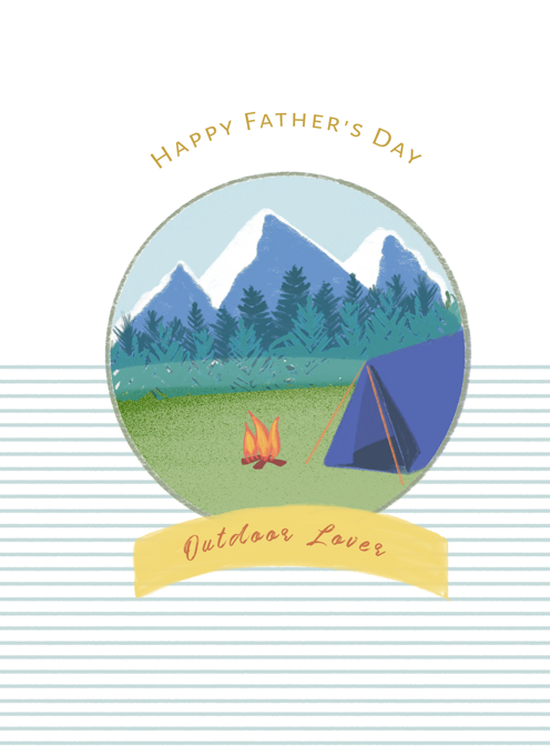 Outdoor Lover Father's Day Card