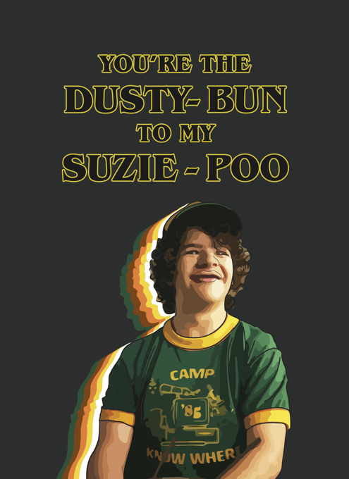 Stranger Things Dusty Bun
