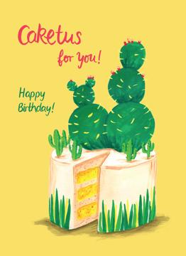 Birthday Caketus