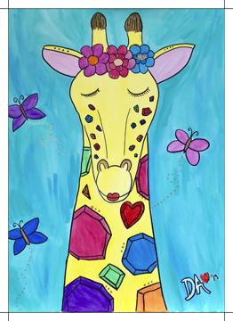 Butterfly Giraffe