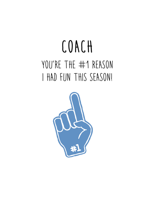 Number One Coach
