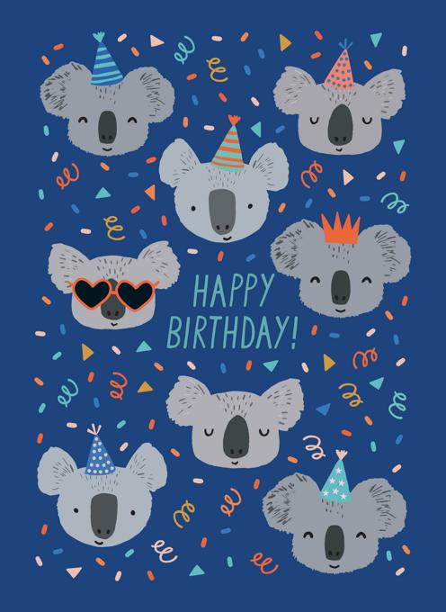 Birthday Party Koalas