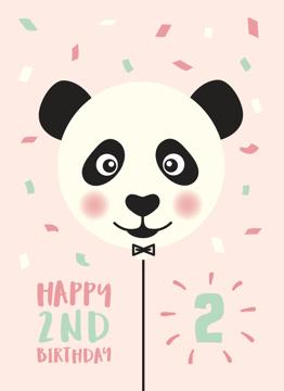 Panda 2nd Birthday