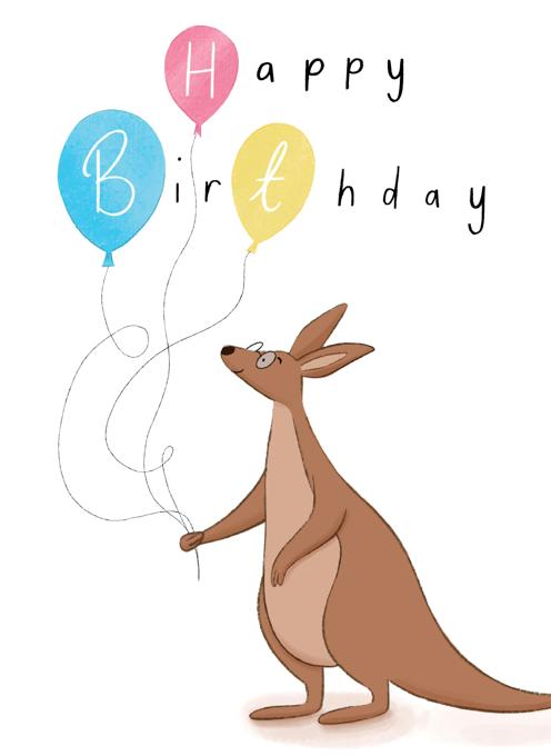 Kangaroo Birthday