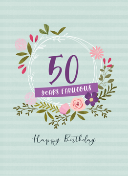 Happy Fabulous 50