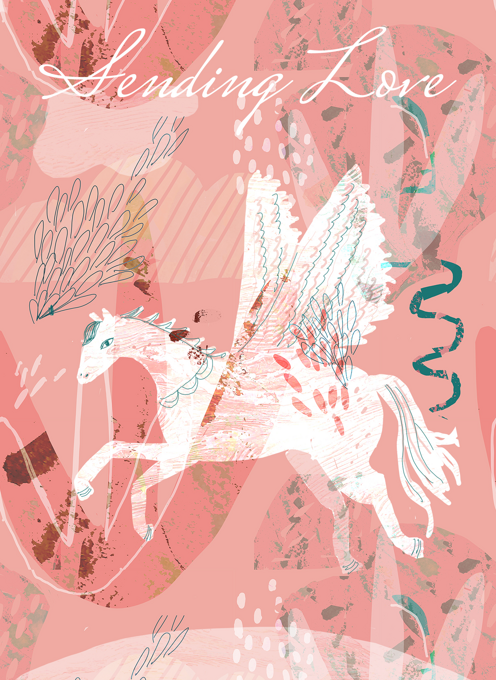 Pegasus Sending Love