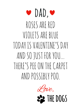 Possibly Poo Valentines