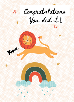 Congratulations Lion