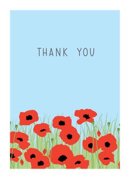 Poppies Thanks