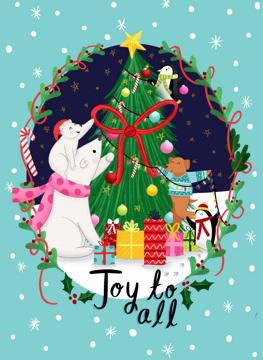 Christmas Animal Celebration