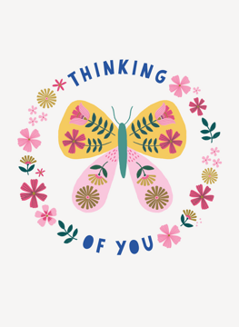 Thinking of You Butterfly