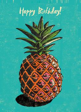 Birthday Pineapple