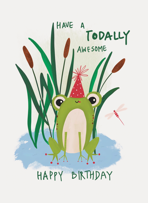Happy Birthday Toad