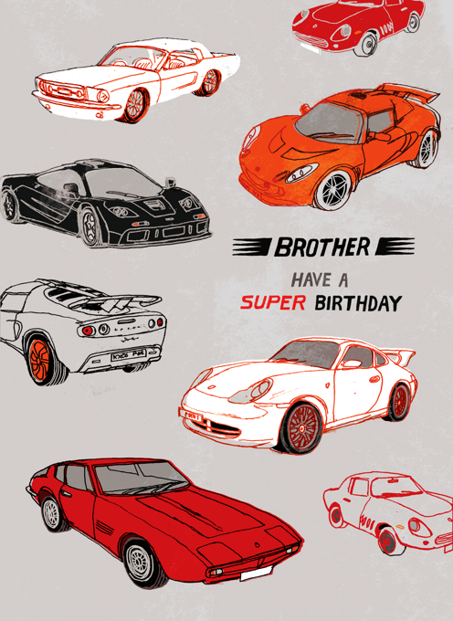 Sports Cars Brother