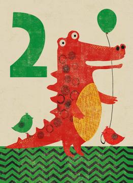Age 2 Crocodile