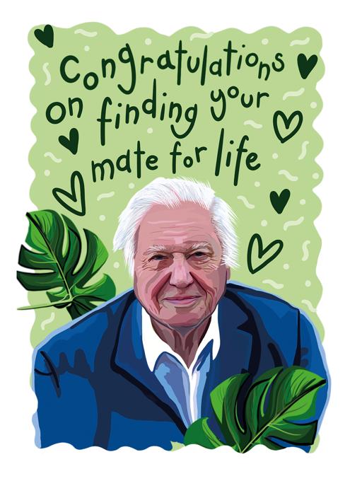 Congratulations Attenborough Anniversary