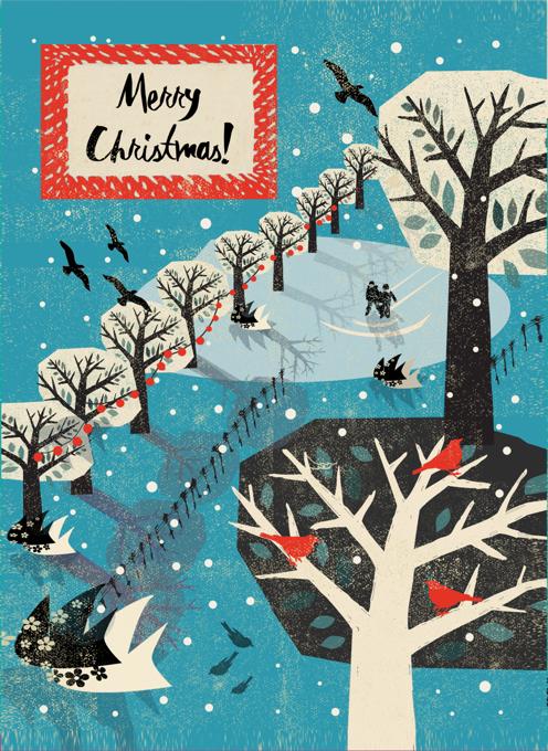 Winter Park Christmas Card