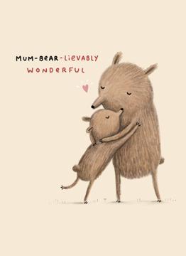 Mum-Bear-Lievably Wonderful