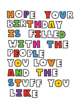 Hope Your Birthday