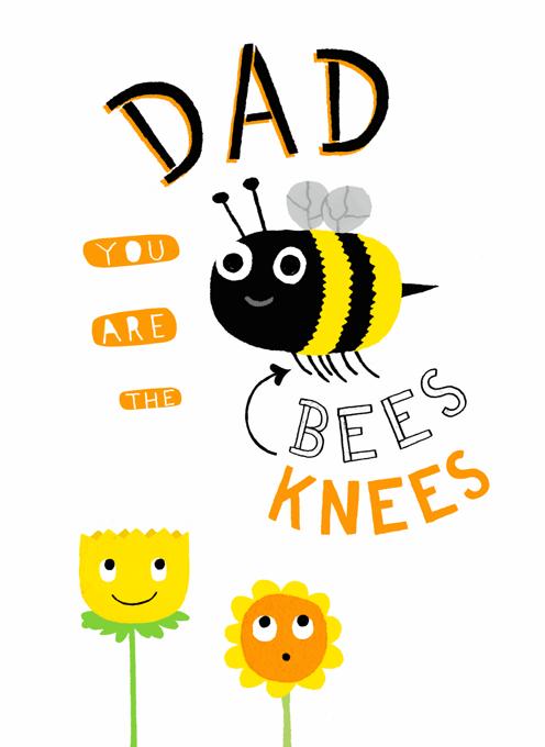 Dad, Bees Knees Design