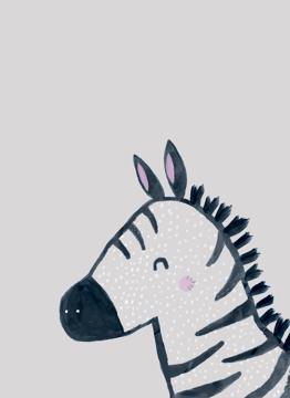 Inky Line Zebra