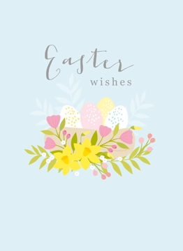 Easter Wishes Nest
