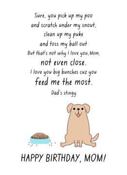 Dog Mom Birthday